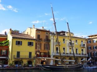 Im kleinen Hafen in Malcesine